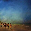 The beach walkers....... by Bertha125