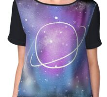 Greetings from Outer Space Chiffon Top