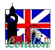 I heart London by MoniqueFrances