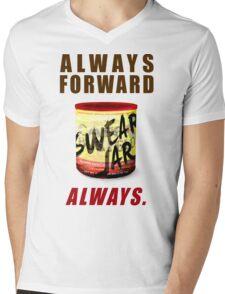 Swear Jar Mens V-Neck T-Shirt