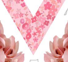 Pink Pastel Floral Seventeen Kpop 2016 Sticker