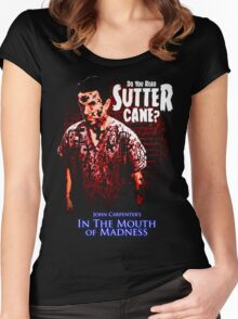 Sutter Cane John Carpenter Horror Movie T-Shirt Women's Fitted Scoop T-Shirt