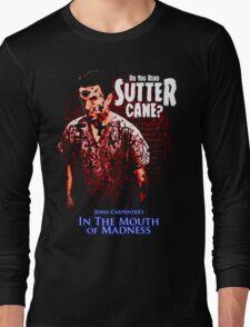 Sutter Cane John Carpenter Horror Movie T-Shirt Long Sleeve T-Shirt