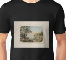 676 View of the Hudson River from Fort Lee New York Unisex T-Shirt