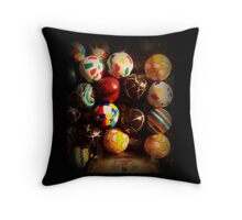 Gumball Machine in Shadow - Series - Hi-Bounce Balls - Iconic New York City Throw Pillow