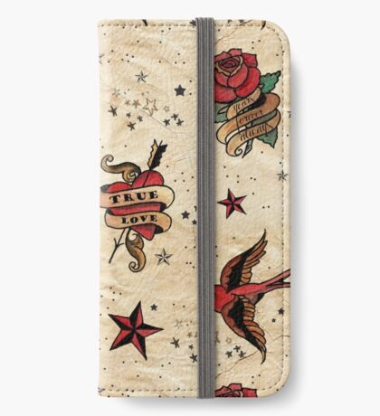 Old School Ink iPhone Wallet/Case/Skin