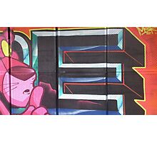 Brighton Graffiti Photographic Print