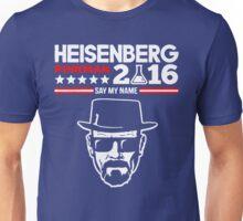 Heisenberg Pinkman For President 2016 Unisex T-Shirt