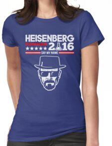 Heisenberg Pinkman For President 2016 Womens Fitted T-Shirt