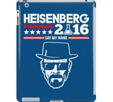 Heisenberg Pinkman For President 2016 iPad Case/Skin