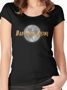 Bad Moon Rising Women's Fitted Scoop T-Shirt