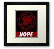 danganronpa hope Framed Print