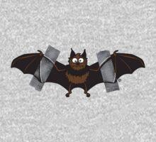 Do-It-Yourself Bat Logo Kids Tee