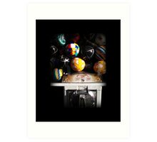 Gumball Memories in Silver - Series - Iconic New York City Art Print