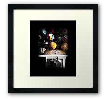 Gumball Memories in Silver - Series - Iconic New York City Framed Print