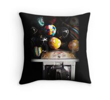 Gumball Memories in Silver - Series - Iconic New York City Throw Pillow