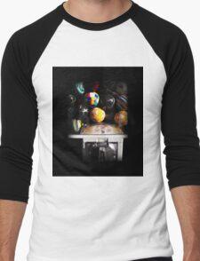 Gumball Memories in Silver - Series - Iconic New York City Men's Baseball ¾ T-Shirt