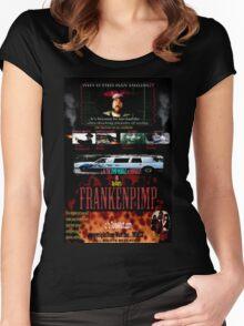 Frankenpimp (2009 ) - 'Original Worldwide Movie Poster' Women's Fitted Scoop T-Shirt