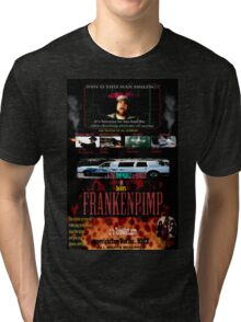 Frankenpimp (2009 ) - 'Original Worldwide Movie Poster' Tri-blend T-Shirt