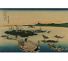 Buyo tsukuda-jima - Hokusai Katsushika - 1890 Photographic Print