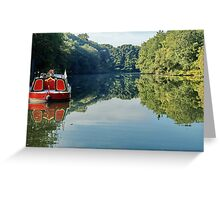 River Boat Greeting Card
