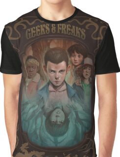 Geeks and Freaks Graphic T-Shirt