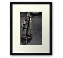 Death Comes Slowly Framed Print