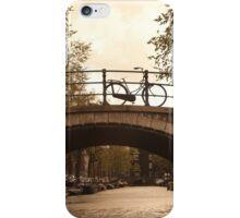 Amsterdam sepia iPhone Case/Skin
