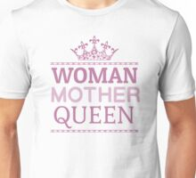 Woman Mother Cool Queen Mom Gift  Unisex T-Shirt