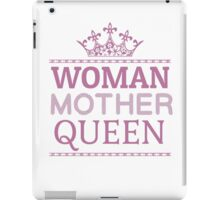 Woman Mother Cool Queen Mom Gift  iPad Case/Skin