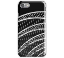 Abstract White Architecture On Sky iPhone Case/Skin