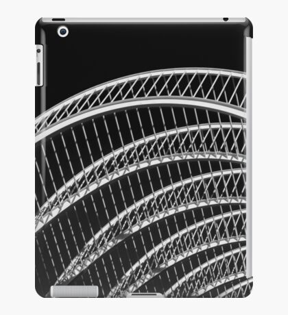 Abstract White Architecture On Sky iPad Case/Skin