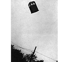 TARDIS UFO Sighting Photographic Print