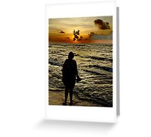 Longing Greeting Card