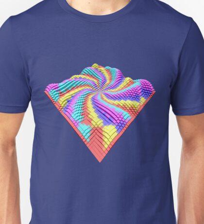 Cube Hero #Fractal Unisex T-Shirt