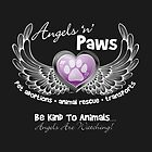 Angels 'n' Paws - black by Lydia Marano