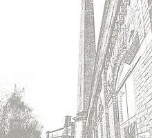 Salt's Mill, Saltaire, Bradford #2 by Graham Geldard