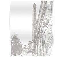 Salt's Mill, Saltaire, Bradford #2 Poster