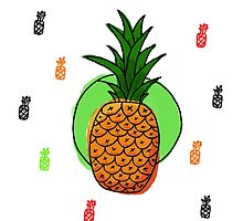 Pineapple by wayvy6