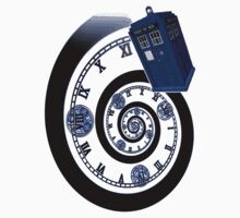 The Twelfth Doctor - time spiral Baby Tee