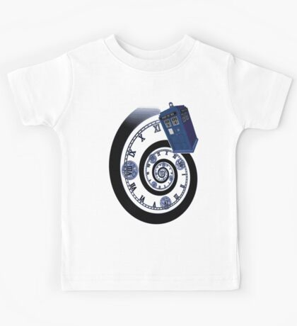 The Twelfth Doctor - time spiral Kids Tee