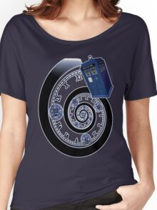 The Twelfth Doctor - time spiral Women's Relaxed Fit T-Shirt