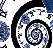 The Twelfth Doctor - time spiral Sticker