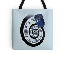 The Twelfth Doctor - time spiral Tote Bag