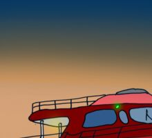 Motor Boat Sticker