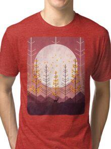 Sunset Mountain Tri-blend T-Shirt