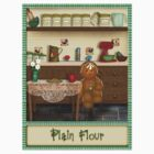 Gingerbread Canister Label - Plain Flour by Patoodie