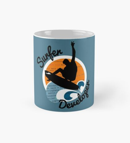 surfer developer surf waves programming Mug