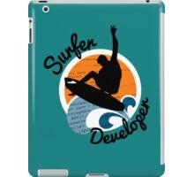 surfer developer surf waves programming iPad Case/Skin