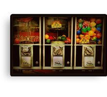 Gumballs All In A Row - Series - Iconic New York City Canvas Print